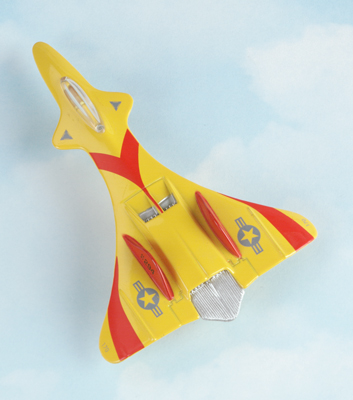 X-111 Conquest Hot Wings Die-Cast Airplane