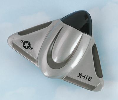 X-112 Space Pod Hot Wings Die-Cast Airplane