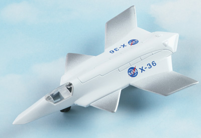 X-36 Tailless Fighter Hot Wings Die-Cast Airplane