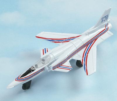 X-29 Hot Wings Die-Cast Airplane