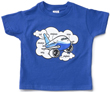 Airplane Parts Toddler T-Shirt -  Blue