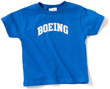 Boeing Logo Varsity Toddler T-Shirt -  Blue