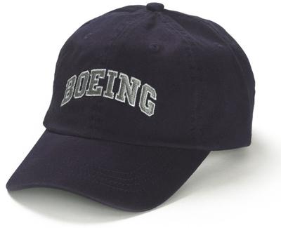 Boeing Varsity Hat - Navy Blue - Youth Size