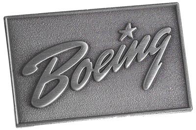 1940's Boeing Heritage Logo Pin