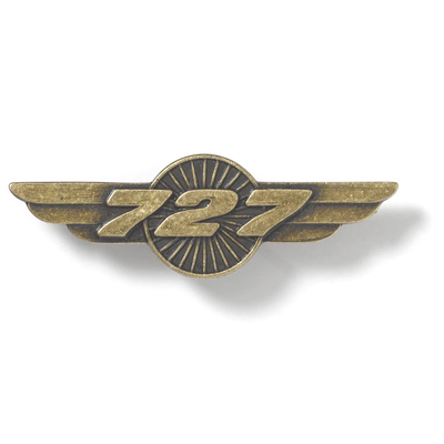 Boeing 727 Heritage Wings Pin