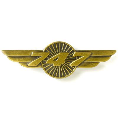 Boeing 747 Heritage Wings Pin