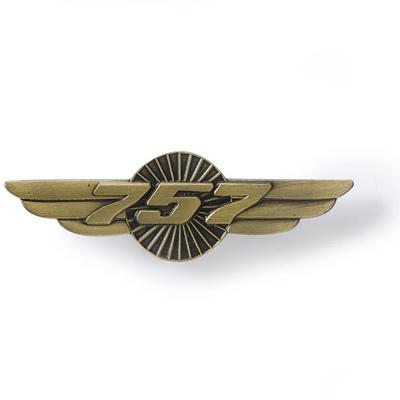 Boeing 757 Heritage Wings Pin