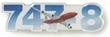 Boeing 747-8 Sky Pin