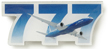 Boeing 777 Sky Pin