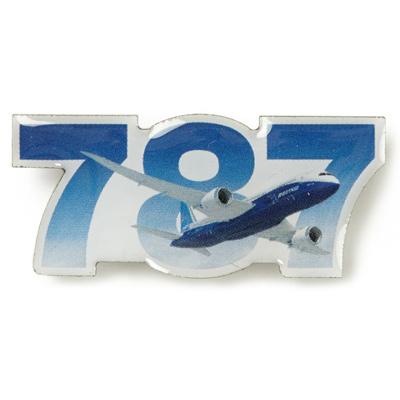 Boeing 787 Dreamliner Sky Pin