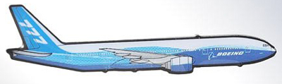 Boeing 777 Side View Pin