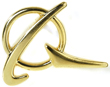 Boeing Symbol Lapel Pin - Gold
