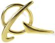Boeing Symbol Lapel Pin - Gold