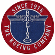 Boeing Totem Round Patch