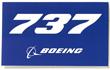 Boeing 737 Sticker