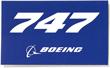 Boeing 747 Sticker