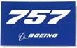 Boeing 757 Sticker