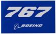 Boeing 767 Sticker
