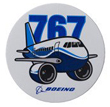 Boeing 767 Pudgy Sticker