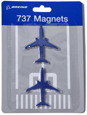 Boeing 737 Magnets - Set of 2