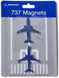 Boeing 737 Magnets - Set of 2