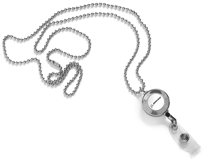 Boeing Ball-Chain Retractable Lanyard