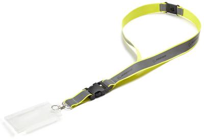 Neon Yellow Safety Lanyard