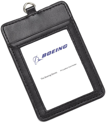 PU Leather Card / ID Holder