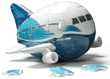 Boeing 787 Dreamliner 3-D Plane Puzzle