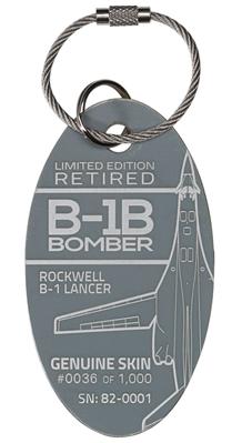 Genuine B-1B Lancer Bomber PlaneTag