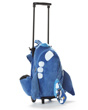Pudgy Airplane Trolley Bag - Blue