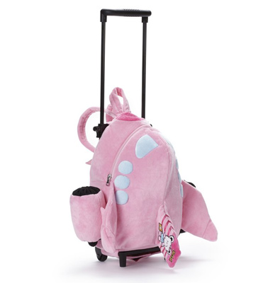 Jetsi Airplane Trolley Bag - Pink