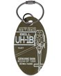 Genuine Bell UH-1B Huey Helicopter PlaneTag