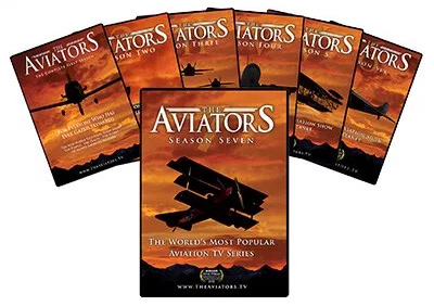 The Aviators TV: Season 1, 2, 3, 4, 5, 6, and 7 DVD Bundle
