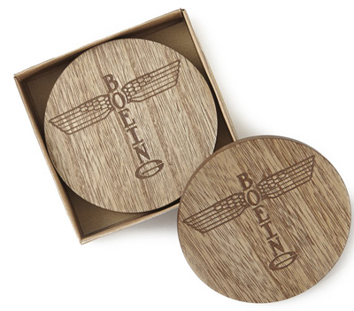 Boeing Totem Coasters