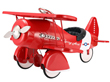 Vintage Red Pedal Plane