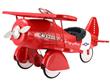 Vintage Red Pedal Plane