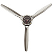 Aluminum Propeller Wall Clock