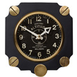 Aluminum Altimeter Wall Clock - Black