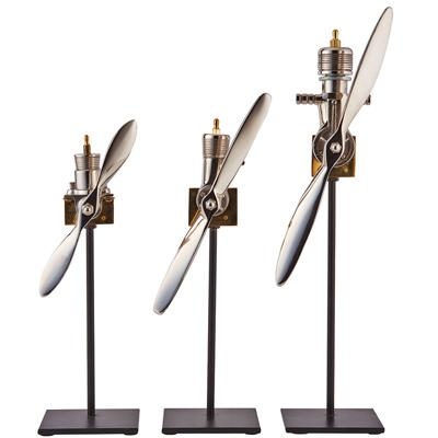 Airplane Engine Replica (Set of 3)