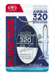 Genuine Airbus A320 Plane Tag From