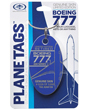 Genuine Boeing 777 PlaneTag - Tail # JA8199