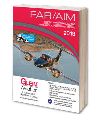 Gleim 2019 FAR/AIM Book