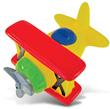 Bi-Plane Bath Toy