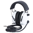 Wicom Aviation Headset - White