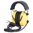 Wicom Aviation Headset - Yellow