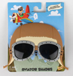 Sun-staches Aviator Cap and Sunglasses