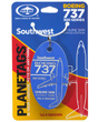 Genuine Southwest Airlines Boeing 737-300 PlaneTag - Tail # N665WN (Blue)