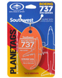 Genuine Southwest Airlines Boeing 737-300 PlaneTag - Tail # N665WN (Orange)