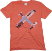 Phonetic Pilot T-Shirt - Heather Orange